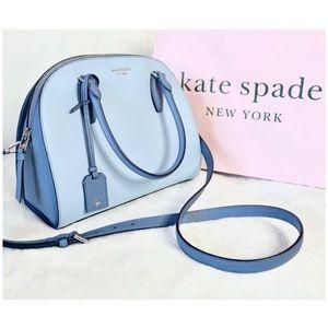 ♠️ Kate Spade Reiley Two Tone Dome Satchel Handbag